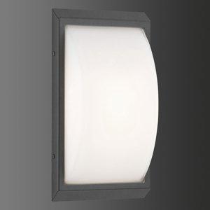 LCD Vonkajšie LED 053 z ušľachtilej ocele grafit