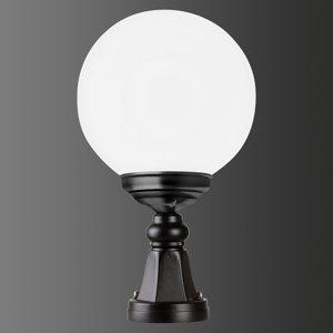 LCD Soklové svietidlo 1141 guľové čierne/biele