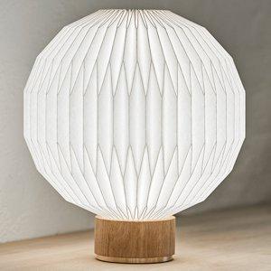 LE KLINT LE KLINT 375 stolná lampa plastové tienidlo 38 cm