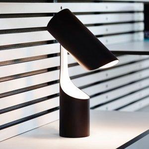 LE KLINT LE KLINT Mutatio stolná lampa E14 čierna/biela