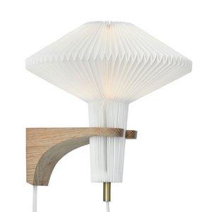 LE KLINT LE KLINT The Mushroom nástenné svietidlo, dub
