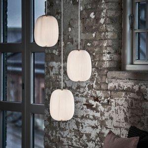 LE KLINT LE KLINT Lamella 4 dizajnová závesná lampa, hliník