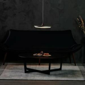 LE KLINT LE KLINT Soleil závesné LED tmavosivé Ø 35cm