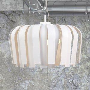 Lis Poland Závesná lampa Zonda, biela, Ø 56cm