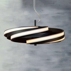 Lis Poland Závesné LED svietidlo Zoya v matnej čiernej