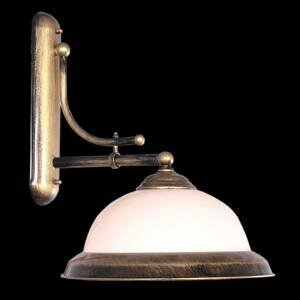 EULUNA Nástenné svetlo Torio starožitný štýl, ručná maľba