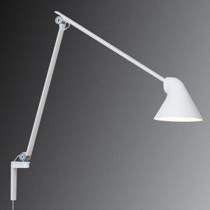 Louis Poulsen Louis Poulsen NJP LED lampa, dlhé rameno, biela