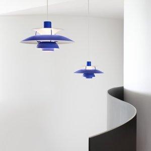 Louis Poulsen Louis Poulsen PH 5 Mini závesná monochrom modrá