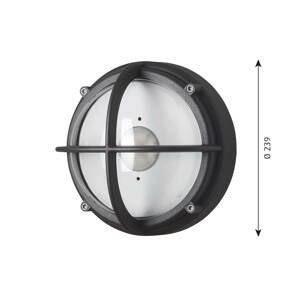 Louis Poulsen Louis Poulsen Skot nástenné LED grafit/číra