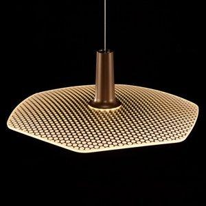 LDM LDM Wyng 6 Dot závesné LED svietidlo bronzové