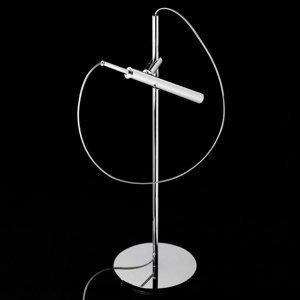 LDM LDM Eccoled Flamingo Tablo stolná LED lampa, chróm