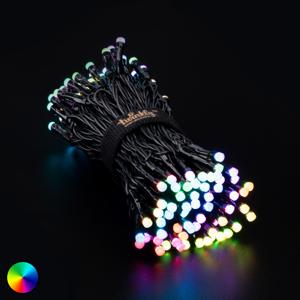 Twinkly Svetelná reťaz Twinkly RGB, čierna, 150 zdr., 12 m