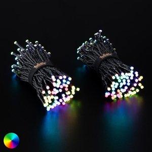 Twinkly Svetelná reťaz Twinkly RGB, čierna, 250 zdr., 20m