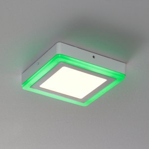 LEDVANCE LEDVANCE LED Color+white square nástenná lampa20cm