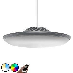 LUKE ROBERTS Luke Roberts Model F závesné LED svietidlo v sivej