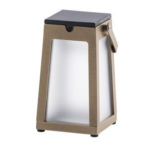 LES JARDINS Solárna LED lucerna Tinka prenosná muškát