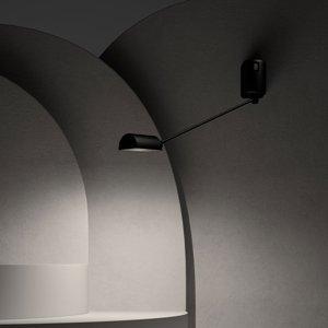 LUMINA Lumina Daphine nástenné LED 3000K 35cm čierne