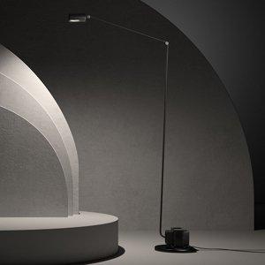 LUMINA Lumina Daphine stojaca LED lampa 3000K, čierna