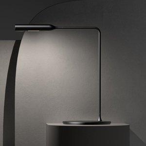 LUMINA Lumina Flo Bedside stolná LED lampa 3000K čierna