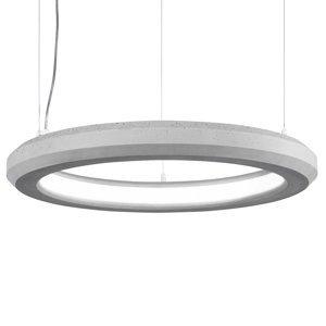 Marchetti Závesné LED svietidlo Materica vnútri Ø 60cm betón