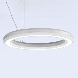 Marchetti Závesné LED svietidlo Materica dole Ø 60cm biele