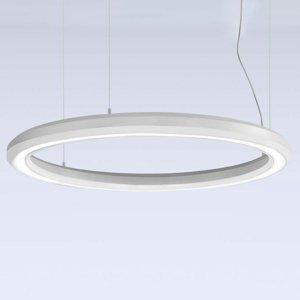 Marchetti Závesné LED svietidlo Materica dole Ø 90cm biele