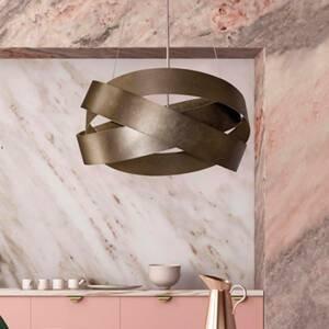 Marchetti Závesná lampa Pura, 60cm, bronz