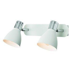 Markslöjd 2-plameňové nástenné svietidlo Huseby, biele