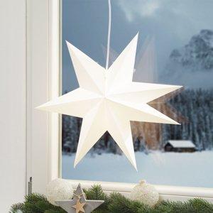 Markslöjd Papierová hviezda Duva na zavesenie, 45cm
