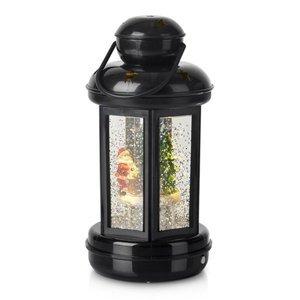 Markslöjd Trblietkami plnená LED lucerna Cosy čierna