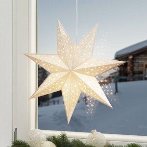 Markslöjd Hviezda Solvalla na zavesenie, 45cm, zlatá