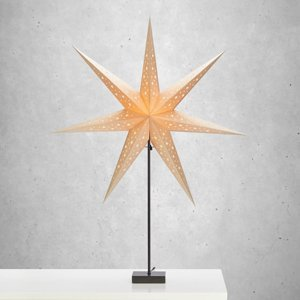 Markslöjd Stojaca hviezda Solvalla, výška 100cm, zlatá