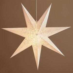 Markslöjd Dekoračná hviezda Olivia v bielej