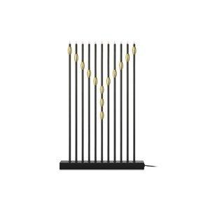 Markslöjd Svietnik Necklace jedenásť-plameňový čierny