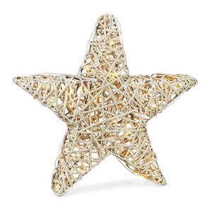 Markslöjd LED dekoračná lampa Sofus do exteriéru ako hviezda