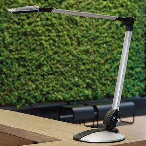 Jakob Maul LED lampa na písací stôl Optimus plochý podstavec