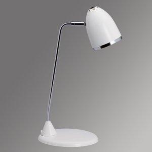 Jakob Maul Veselá lampa na písací stôl Starlet – biela