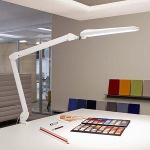 Jakob Maul Stolná LED lampa MAULcraft s upínaním stmievateľná