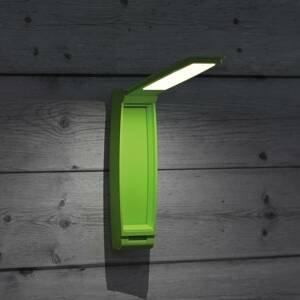 MAUL Stolná LED lampa MAULzed, stmievateľná, zelená