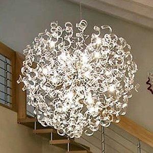 Mettallux Závesná lampa Crystal, guľa