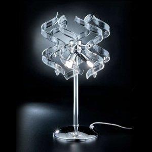 Mettallux Stolná lampa Crystal