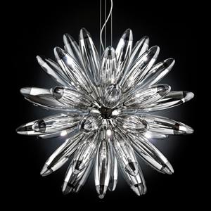 Mettallux Pompézna závesná lampa Flo, 85cm