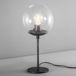 Mettallux Stolná lampa Global Ø 20cm čierna
