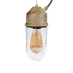 Moretti Závesná lampa 1951N starožitná mosadz rovné číre