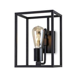 Moretti Nástenné svietidlo Cubic³ 3381 čierne