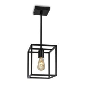 Moretti Závesná lampa Cubic³ 3383, čierna