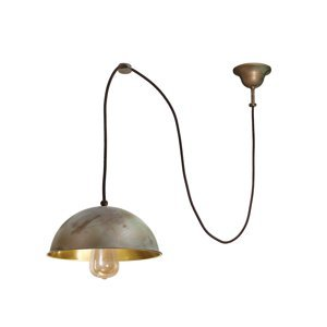 Moretti Závesná lampa Circle decentralizovaná 1-pl starož.