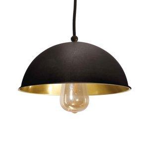 Moretti Závesná lampa Circle decentralizovaná 1pl čiernená