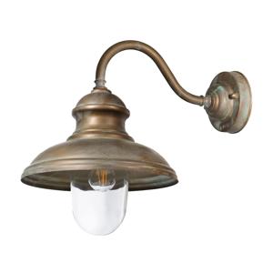 Moretti Vonkajšie svietidlo Little Mill 3350 mosadz/číra