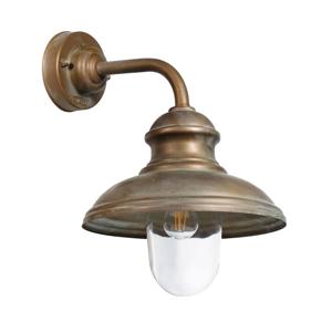 Moretti Vonkajšie svietidlo Little Mill 3351 mosadz/číra